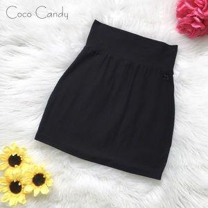 💟Victoria's Secret PINK Black Mini Skirt